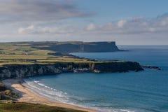 Whitepark海湾,北爱尔兰 库存照片