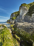 Whiterocks-Bucht, Grafschaft Antrim, Nordirland Lizenzfreies Stockbild