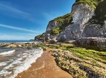 Whiterocks, Nordirland, Grafschaft Antrim Stockfotos