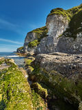 Whiterocks, Northern Ireland, County Antrim. A beautiful summer day in Whiterocks Bay, County Antrim, Northern Ireland royalty free stock images