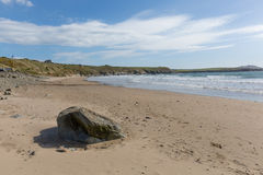 Whitesands Bay beach Pembrokeshire West Wales UK Stock Photography