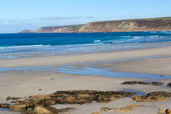 Whitesands Bay Sennen Cove Cornwall Stock Photography