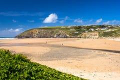 Whitesands lixa Gales Fotos de Stock Royalty Free