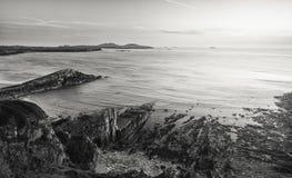 Κόλπος Whitesands at Low Tide σε Pembrokeshire, UK στοκ φωτογραφίες με δικαίωμα ελεύθερης χρήσης