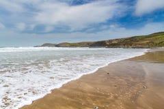 Whitesands piaski Walia Zdjęcia Royalty Free