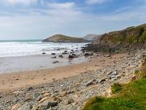 Whitesands versandet Wales Stockbild