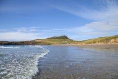 Whitesands zatoka, Pembrokeshire Fotografia Stock