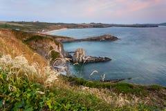 Whitesands zatoka, Pembrokeshire wybrzeże Zdjęcia Stock