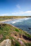 Whitesands zatoka Pembrokeshire Zachodni Walia UK Fotografia Stock