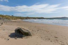 Whitesands zatoki plaża Pembrokeshire Zachodni Walia UK Fotografia Stock