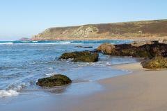Whitesands zatoki Sennen zatoczka Cornwall Obraz Stock