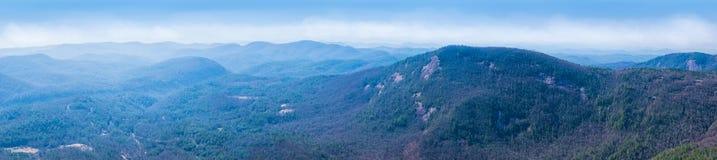 Whiteside Mountain View Royalty Free Stock Photos