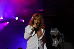 Whitesnake In Concert Royalty Free Stock Images