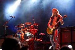 Whitesnake di concerto Immagine Stock