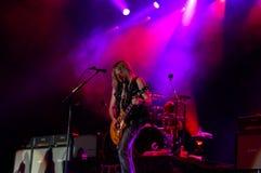 Whitesnake di concerto Immagini Stock