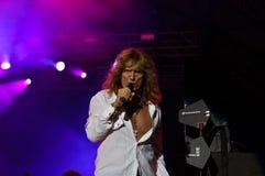 Whitesnake en concierto imágenes de archivo libres de regalías