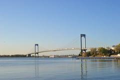 Whitestone-Brücke lizenzfreie stockfotos