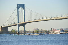 Whitestone Bridge Closeup Royalty Free Stock Images