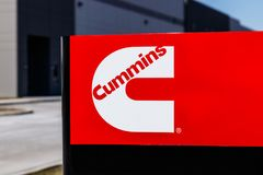 Whitestown - Circa March 2018: Cummins Inc. Signage and Logo. Cummins is a Manufacturer of Engines and Power Equipment II. Cummins Inc. Signage and Logo. Cummins Stock Photography