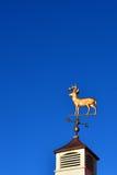 Whitetail deer weathervane Stock Photo