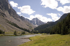 Whitetail Peak - Montana Stock Image