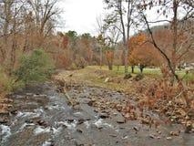 Whitetop Laurel Creek em Damasco, Virgínia imagem de stock