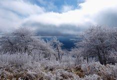 Whitetop Mountain Stock Photo
