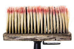 Whitewash brush Stock Photography