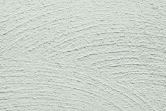 Whitewash lime textured grainy uneven background, wide brushstrokes in semi circle shape Stock Image