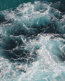 Whitewash Water. White wash pattern swirling in the ocean Stock Photography