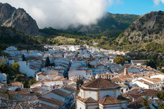 Whitewashed Andalusian town Stock Photography
