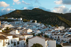 Whitewashed Andalusian town royalty free stock photos