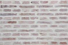 Whitewashed brick wall. Background texture Royalty Free Stock Photo
