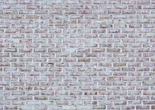 Whitewashed Brick Wall Texture Royalty Free Stock Photos