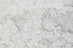 Whitewashed clay wall. Background texture Stock Image