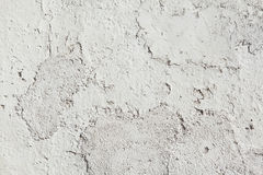 Whitewashed clay wall. Background texture Stock Photo