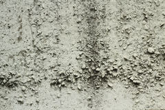 Whitewashed concrete wall background Stock Image