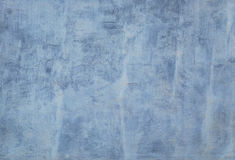 Whitewashed dirty blue concrete wall. Stock Photo