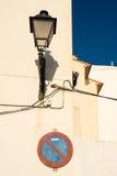 Whitewashed facades Royalty Free Stock Photos