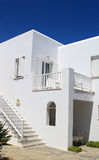 Whitewashed House at Greece Stock Photography