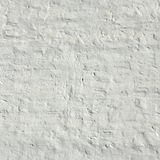 Whitewashed Old Brick Wall Uneven Bumpy Rough Rustic Background Royalty Free Stock Photos