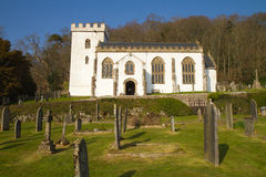 Selworthy Church Somerset England Royalty Free Stock Images