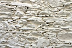 Whitewashed wall Royalty Free Stock Photos