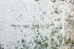 Whitewashed wall with rich and various texture Royalty Free Stock Photos