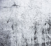 Whitewashed wall with rich and various texture Stock Photography