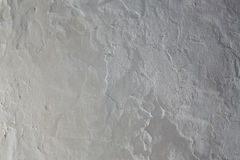 Whitewashed white Mediterranean wall texture. In spain Royalty Free Stock Photos