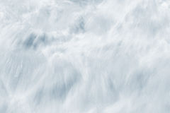 Whitewater Abstract Royalty Free Stock Photography