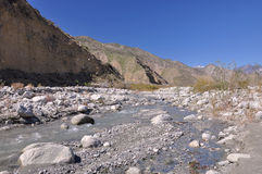 Whitewater Canyon Royalty Free Stock Images