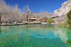 Free Whitewater Canyon Pond Royalty Free Stock Images - 29532089