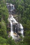 Whitewater fällt in Nord-Carolina Lizenzfreies Stockbild